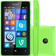Smartphone Microsoft Lumia 435 8GB Dual Core 1,2Ghz Dual Chip Cam 2.0MP WiFi 3G 4.0 - Verde