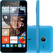Smartphone Microsoft Lumia 640 Xl Single 3g Tela 5.7 8gb Câmera 13mp - Azul