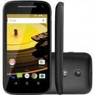 Smartphone Moto E 2ª Geração XT1514, Dual Chip, Preto, Tela 4.5