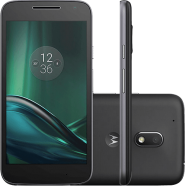 Smartphone Moto G 4 Play Dual Chip Android 6.0 Tela 5'' 16GB Câmera 8MP - Preto
