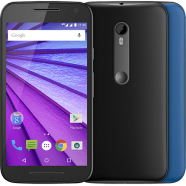 Smartphone Motorola Moto G3 Colors XT1543 Preto - Android 5.1 Lollipop, 16GB, Câmera 13MP, Tela 5'