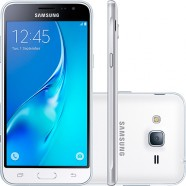 Smartphone Samsung Galaxy J3 SM-J320M/DS Dual Android 5.1 Tela 5 8GB 4G Wi-Fi Cam 8MP