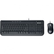 Kit Teclado e Mouse Com Fio Wired Microsoft 600 Abnt2 - APB-00005