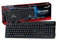 Teclado Gamer Genius Kb-G255 Led Luminoso Azul Br-Por Usb