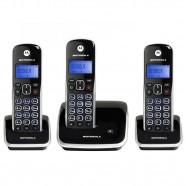 Telefone Digital sem Fio Motorola Auri 3500-3, base + 2 Ramais Adicionais
