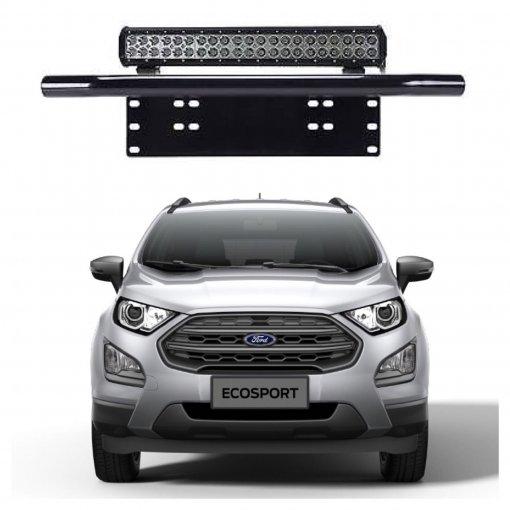 Suporte para Farol Placa Frontal Tubular Ford Ecosport