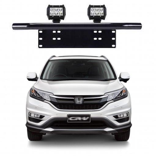 Suporte para Farol Placa Frontal Tubular Honda CRV