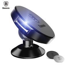 Imagem - Suporte Veicular Celular GPS Magnético 360º Universal Preto Baseus cód: AIN.201.PT