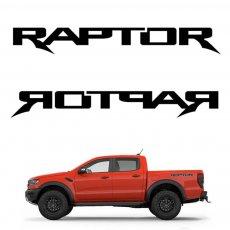 Imagem - Adesivo Modelo Raptor Ford Ranger (par) cód: ADE.26.133.PT