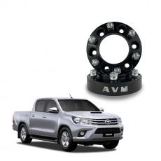 Imagem - Alargador de Rodas Toyota Hilux AVM PRETO 6W037BL (Par) cód: ALG.245.PT
