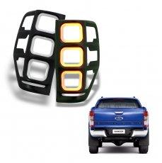 Imagem - Aplique Moldura Lanterna com LED DRL Ford Ranger cód: APL.453.133.PT