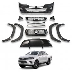 Imagem - Body Kit Frente Completa Conversão Toyota Hilux  cód: BKT.163.358.SPT