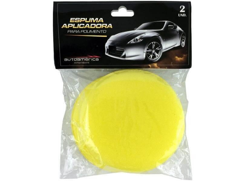 Imagem - Espuma Aplicadora Amarela Autoamerica cód: CLN.122