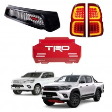 Imagem - Combo TRD para Toyota Hilux cód: GRD.53.358.PT