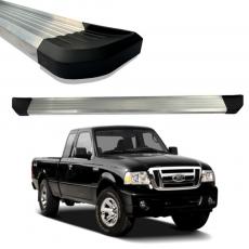 Imagem - Estribo De Aluminio Anodizado Ford Ranger Simples  cód: EST.01.129.AAN