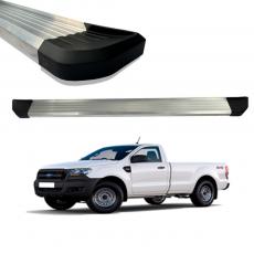 Imagem - Estribo De Aluminio Anodizado Ford Ranger Simples  cód: EST.01.131.AAN