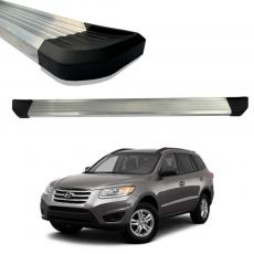 Imagem - Estribo De Aluminio Anodizado Hyundai Santa Fé  cód: EST.01.181.AAN