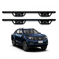 Imagem - Estribo Lateral em Aço Modelo TX para Nova Nissan Frontier cód:  EST.06.300.PT