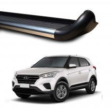 Imagem - Estribo Lateral Para Hyundai Creta Personalizado em Alumínio cód: EST.04.173