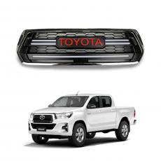 Imagem - Grade Dianteira com Led para Toyota Hilux cód: GRD.52.354.2.CRM