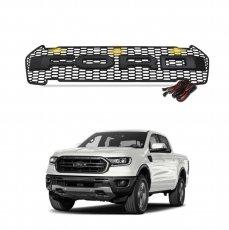 Imagem - Grade Frontal Modelo Raptor Com LED Ford Ranger cód: GRD.52.136.PT