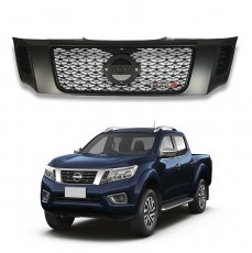 Imagem - Grade Frontal Nismo Preta Nissan Frontier cód: GRD.280.300.PT