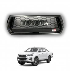 Imagem - Grade Frontal Toyota Hilux 2019 a 2020 Modelo GR cód: GRD.53.354.PT