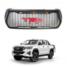 Imagem - Grade Frontal Toyota Hilux Modelo TRD com LED cód: GRD.52.354.PT