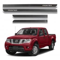 Imagem - Jogo Frisos Laterais Preto Fosco Nissan Frontier cód: FRS.48.300.PTF