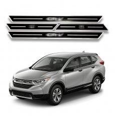 Imagem - Kit Soleiras Resinadas Preta Honda CRV cód: SLR.69.162.PT