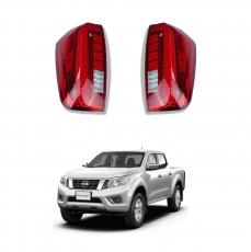 Imagem - Lanterna Full Led Vermelha para Nova Nissan Frontier  cód: LED.84.300.2.VM