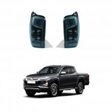 Imagem - Lanterna Fumê para Nova Mitsubishi Triton 2021 cód:  LED.84.283.PT