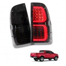 Imagem - Lanterna LED Fumê Toyota Hilux (par) cód: LED.84.358.PT