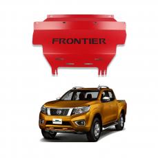 Imagem - Protetor De Cárter Vermelho Nissan Frontier  cód: