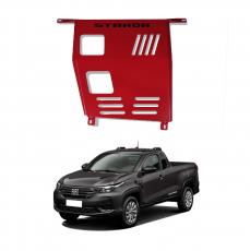 Imagem - Protetor de Motor para Nova Fiat Strada 2021 Vermelho cód:  KPT.183.107.VM