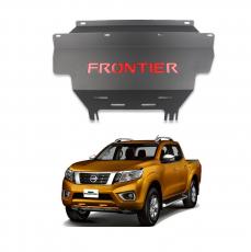 Imagem - Protetor De Motor Preto Nissan Frontier  cód: KPT.183.300.PT