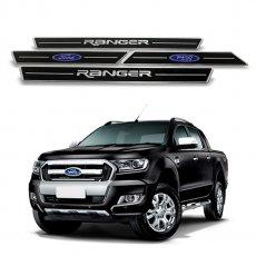 Imagem - Soleira de Portas Resinada Preta Ford Ranger