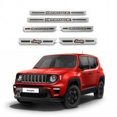 Imagem - Soleira de Portas Aço Escovado Jeep Renegade cód: SLR.69.191.PR