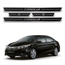Imagem - Soleira de Portas Resinada Preta Toyota Corolla cód: SLR.69.350.PT