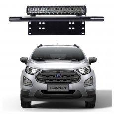 Imagem - Suporte para Farol Placa Frontal Tubular Ford Ecosport  cód: SPT.301.PT