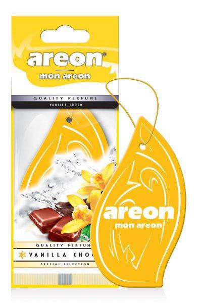 6eca4d845 Aromatizante para Carros Mon Areon Vanilla Choco 952507 -