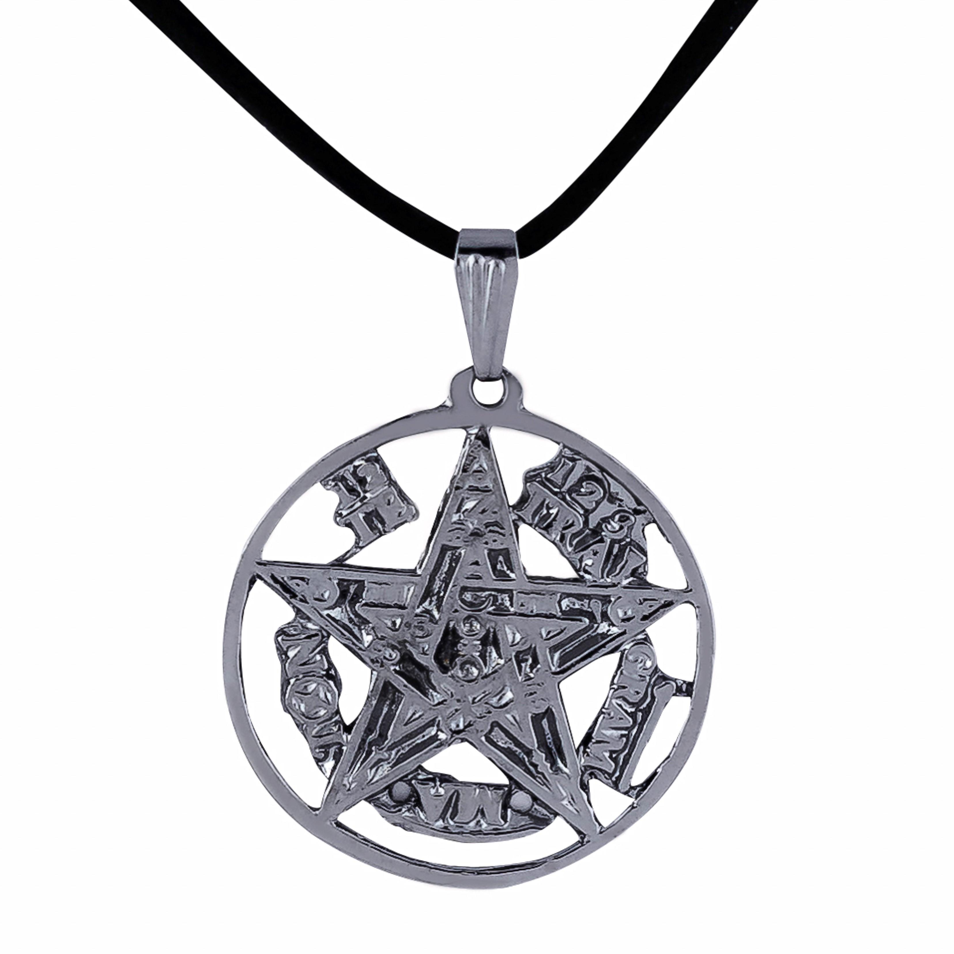 Imagem - Colar Tetragrammaton 27mm - Sunshine Cristais cód: 5644G