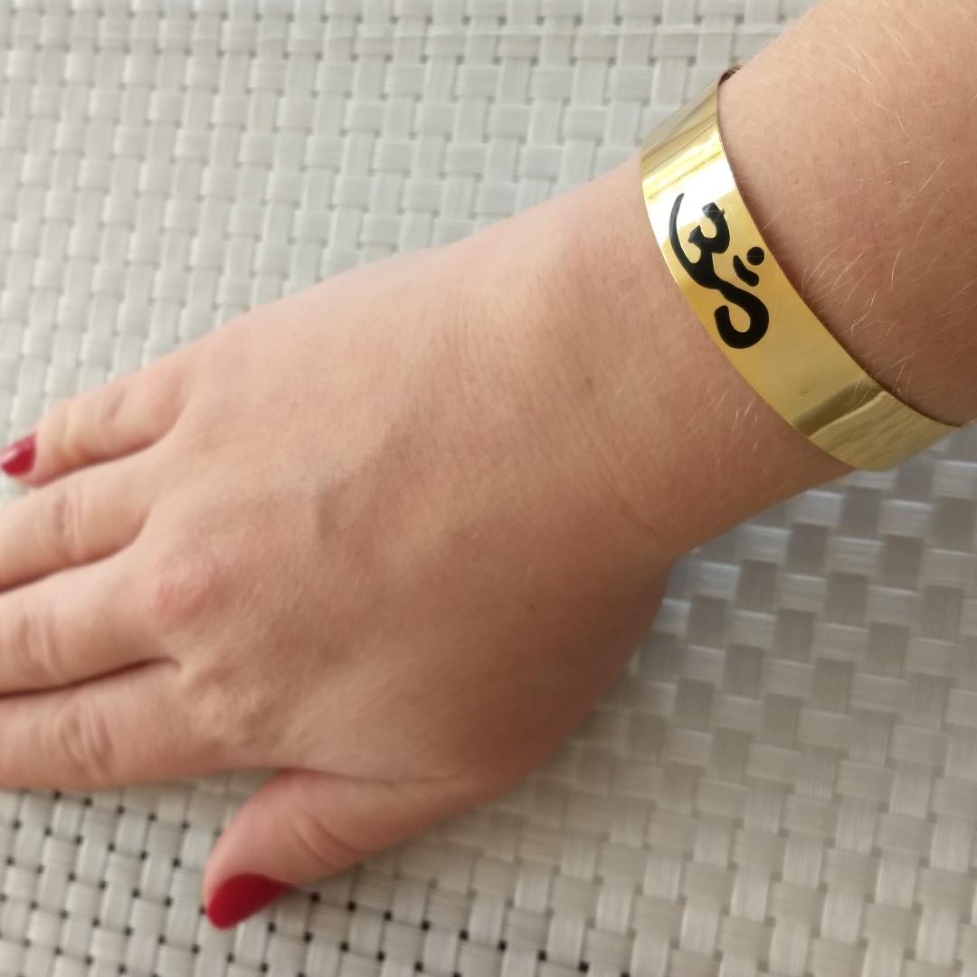 Imagem - Bracelete OM Ouro cód: 91