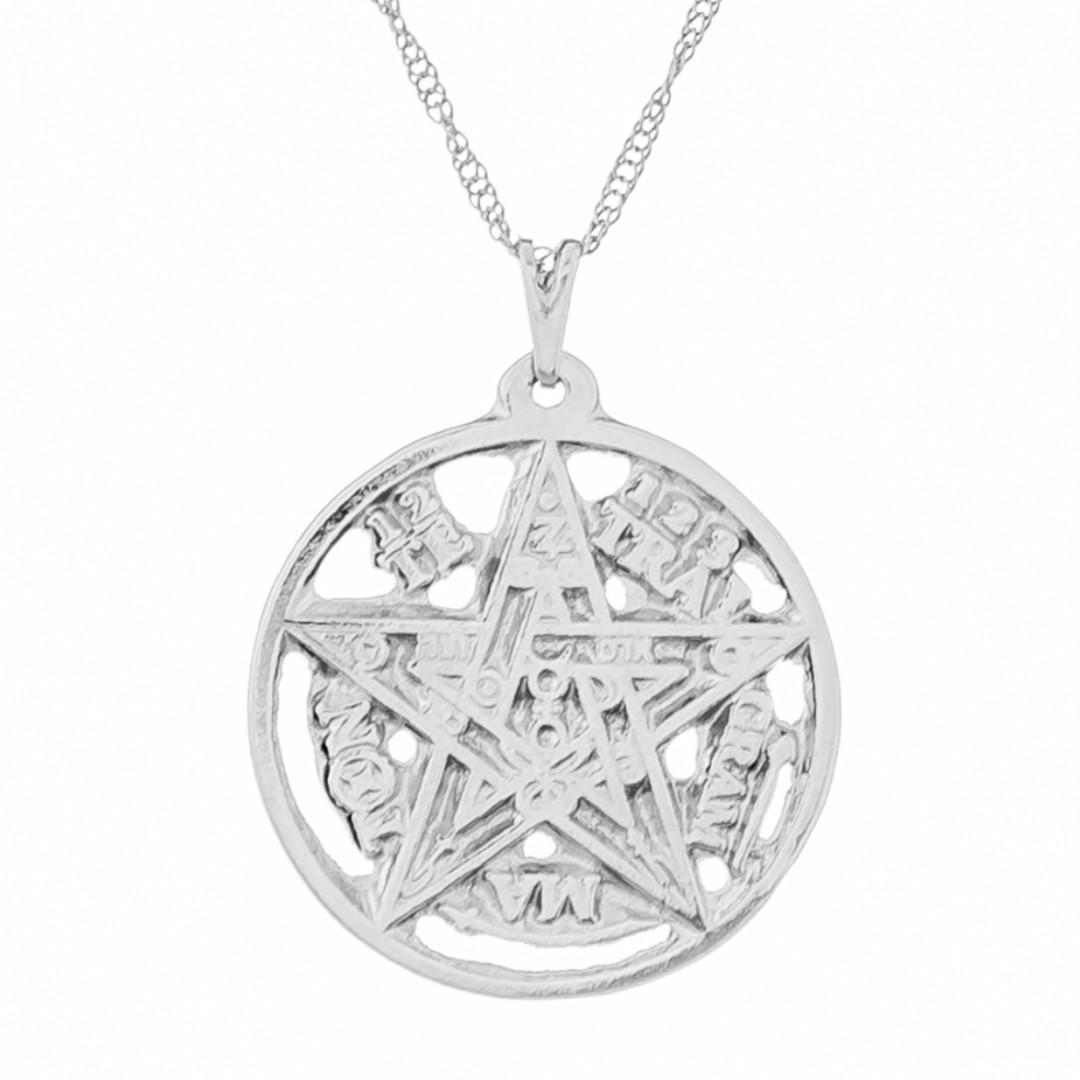 Imagem - Gargantilha Tetragrammaton 27mm - Sunshine Cristais cód: 5644R