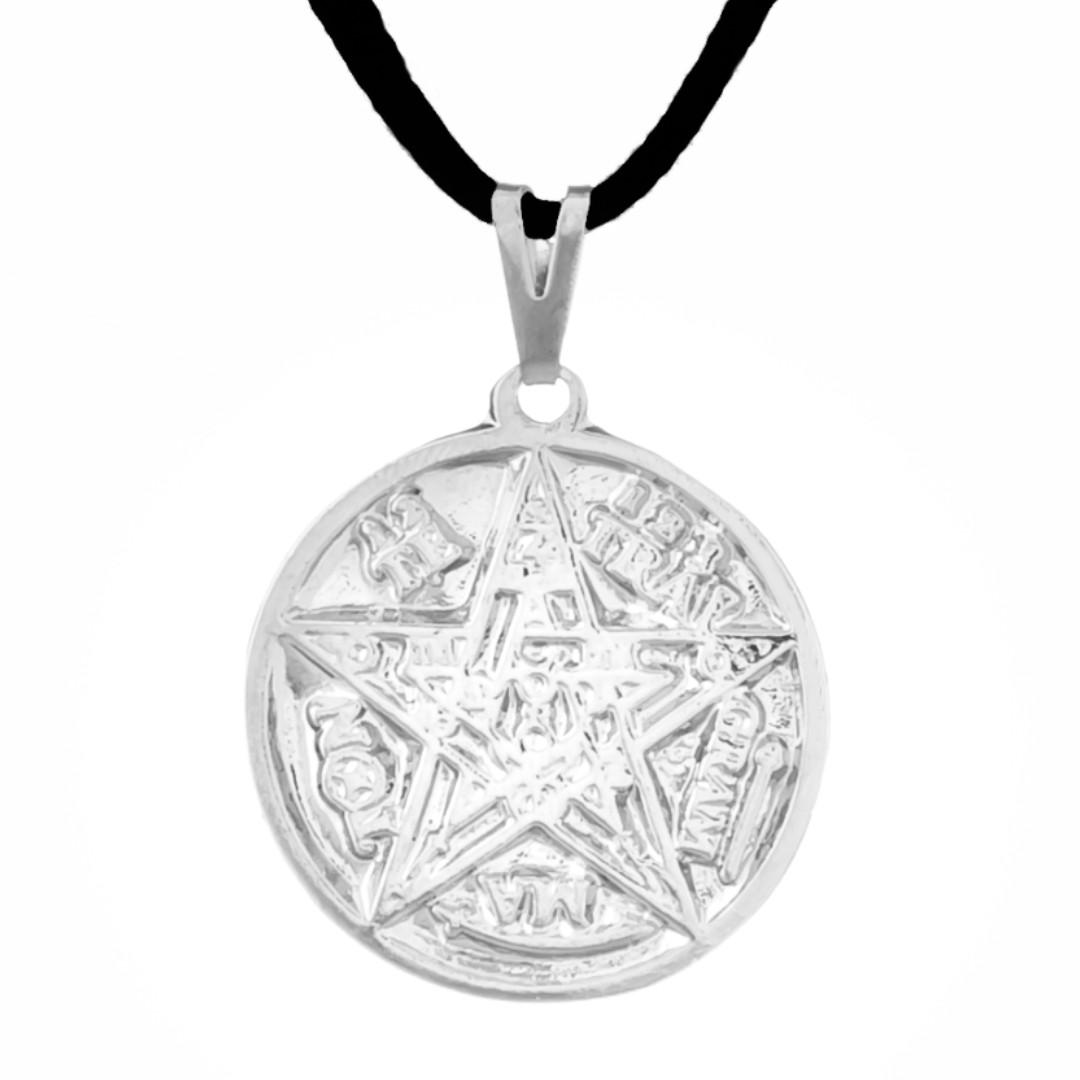 Imagem - Gargantilha Tetragrammaton 27mm - Sunshine Cristais cód: 5643R