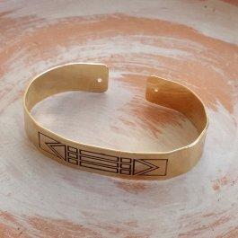 Imagem - Bracelete Luxor Ouro cód: 93