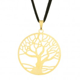 Imagem - Colar Árvore da Vida com Aro 30mm - Sunshine Cristais cód: 5708O