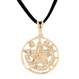 Imagem - Colar Tetragrammaton 27mm - Sunshine Cristais cód: 5644O