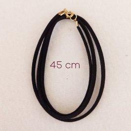 Imagem - Cordão de camurça 45 cm cód: 996-O-45