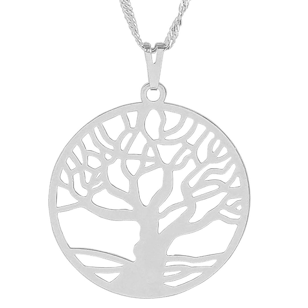 Imagem - Gargantilha Árvore da Vida com Aro 30mm - Sunshine Cristais cód: 5708R